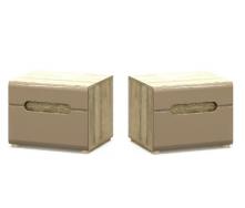 Приліжкова тумба Меблі-Сервіс Флоренс 39х50х42 см секвоя