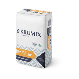 KRUMIX KM Filler Шпаклевка гипсовая для швов 25 кг