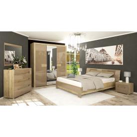 Спальня Мебель-Сервис Флоренс 3д секвоя