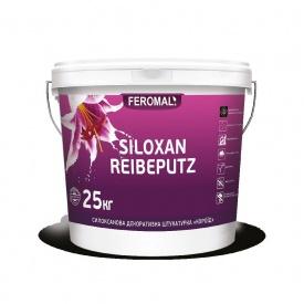 Штукатурка декоративная SILOXAN REIBENPUTZ Короед зерно 2-3 мм 25 кг
