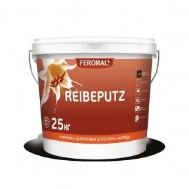 Штукатурка акриловая FEROMAL REIBEPUTZ декоративная Короед база АВ 25 кг