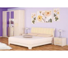 Ліжко двоспальне Меблі-Сервіс Токіо ламель 1690х2230х925 мм ясен
