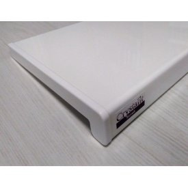 Подоконник Crystalit Глянец Белый 200x1000 мм