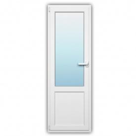 Балконные двери Rehau 60 наружная ламинация 700х2150 с энергосбережением