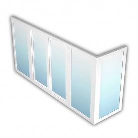 Балкон OpenTeck ELIT 1400х3800