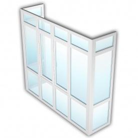 Балкон OpenTeck DeLuxe 2500х4800