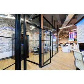Алюминиевые офисные перегородки Nayada Quadro