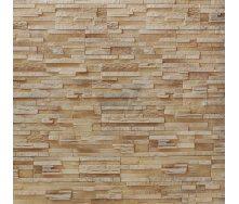 Плитка гипсовая прямая Rustika Верона песочная 335x90|165x90 мм