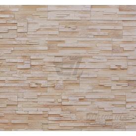 Плитка гипсовая прямая Rustika Верона кремовая 335x90|165x90 мм