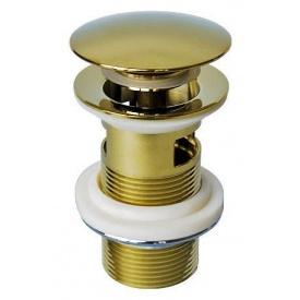 Донный клапан для раковины Welle золото