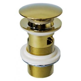 Донний клапан для раковини Welle золото