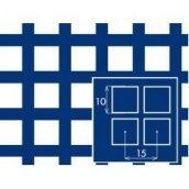 Лист алюмінієвий перфорований квадрат 10х10 мм