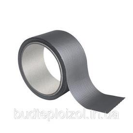 Клейкая лента армированная 50 м 50 мм silver