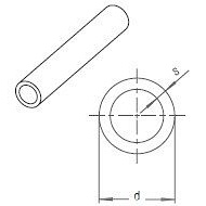 Труба RAUTITAN pink 32х4,4 мм, відрізкі 6 м