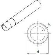 Труба RAUTITAN stabil 32х4,7 відрізкі 5 м