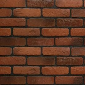 Плитка гіпсова Rustika Цегла античний червоний 185x60x10 мм