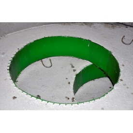 Плита перекрытия колодца с ПВХ ПП20.2-1-П