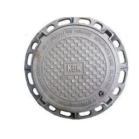 Люк канализационный Т (С250) Киевводоканал с запорным устройством