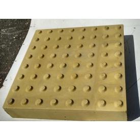 Плитка тактильная Полоса 300х300х60 мм
