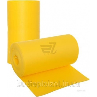 Полотно Verdani шумоизоляционное 8 мм 0,6х9 м желтое