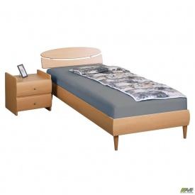 Кровать Кэнди МДФ бук ножки буковые конус бук 0,8x2 м