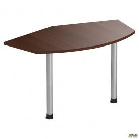 Стол приставной МГ-318 (1382х800х750мм) орех темный