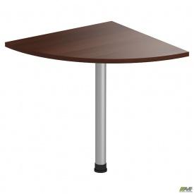 Стол приставной МГ-317 (720х720х750мм) орех темный