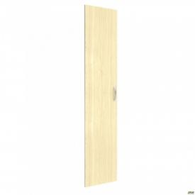 Дверь М22-1 L АртМобил 410х18х1910 мм клен/кромка серый металлик