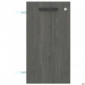 Двері SIG-710 з замком ДСП R SIG 10 395x18x737 мм Морське Дерево Карбон