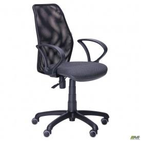 Кресло Oxi/АМФ-4 сиденье Квадро-02/спинка Сетка черная