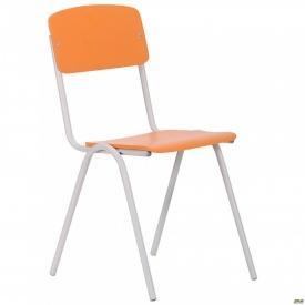 Стілець Учнівський №3 сірий RAL 7035 апельсин