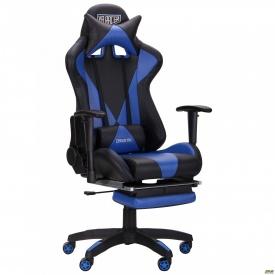 Крісло VR Racer Magnus чорний/синій
