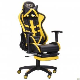 Крісло VR Racer BattleBee чорний/жовтий