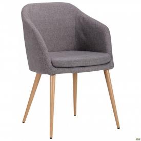 Кресло Франческо бук/серый
