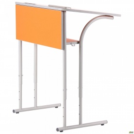 Парта шкільна одномісна регульована 3-6 р г R оранж