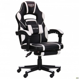Крісло VR Racer Dexter Vector чорний/білий