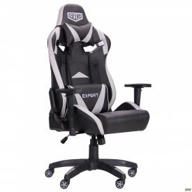 Крісло VR Racer Expert Wizard чорний/сірий