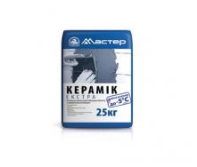 Клей для плитки Майстер Керамік Екстра зимова формула 25 кг
