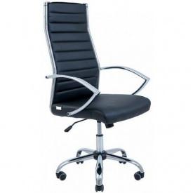 Офісне крісло Richman Малібу 1220-1120х650х590 мм чорне