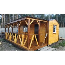 Дачный домик 6х5,5 с фальшбруса