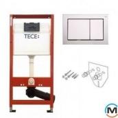 Комплект TECEbase (модуль + панель змиву TECEbase хром глянцевий + кріплення)