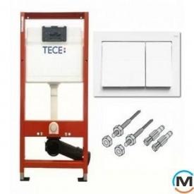 Комплект TECEbase (модуль + панель смыва TECEbase белая + крепления)