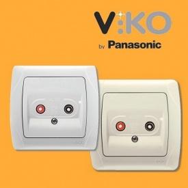 Аудио розетка для динамиков VIKO Carmen
