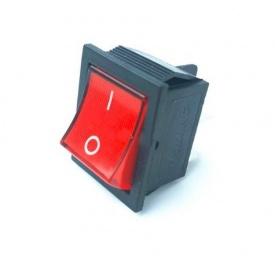 Перемикач клавіатури КП-2-220В 4 контакти 2 положення з фіксацією вкл-викл без підсвітки