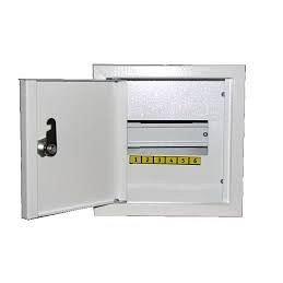 Шкаф монтажный распределительный герметичний наружной установки с замком Лоза ШМР-А-9В