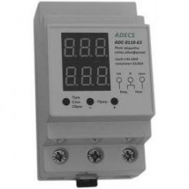 Реле контролю напруги і струму Adecs ADC-0110-63
