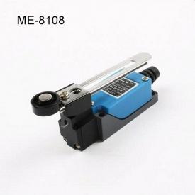 Кінцевий вимикач МЕ 8108 1NO + 1NC важіль з роликом регульований по довжині