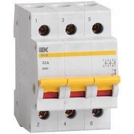 Автоматический выключатель ВА47-29 3P 50A 4,5 кА ИЭК