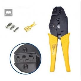 Клещи для обжима разрезных наконечников HS-03B