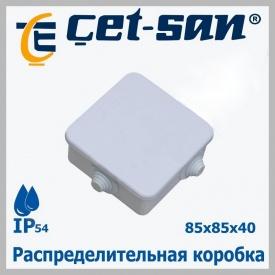 Распределительная коробка 85x85 Get-san IP54 10 шт